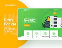 UltraPacket: Website Design