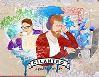 Cilantro Café Posters / EGY