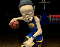 "Stephen Curry ""Behind the Back"" Figure"