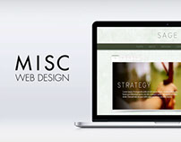 Misc Web Designs