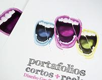 Muestra portafolios Diseño Gráfico Ujtl