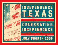 Independence Texas Fourth of July T-shirt