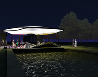ARHETIPURI - Pavilion for public space, Bucharest