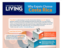 International living Magazine Infographic.