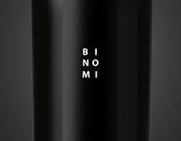 Binomi Wine label