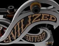 Civilized Tattoo Machine