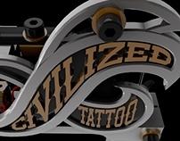 Civilized Tattoo Machine
