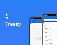 Treasy - IOS App