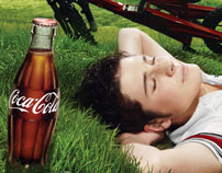 Coca-Cola Bicycle Campaign