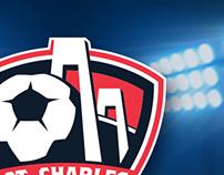 St Charles Soccer Branding
