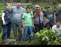 Peru Global Imports / website copy