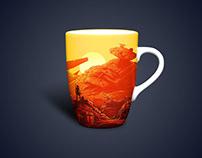 Free Classic Mug Mockup