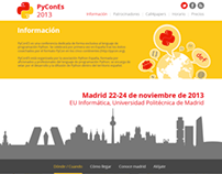 PyCon Es WEB + GRAPHIC DESIGN