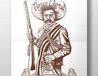 Badeco T-shirts - Emiliano Zapata