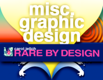 Miscellaneous Graphic Design