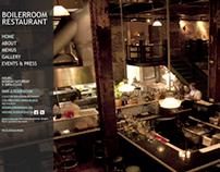 Boiler Room Restaurant: Website