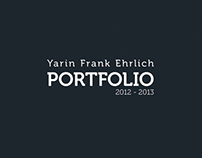 Industrial Design Student Portfolio 2012 - 2013