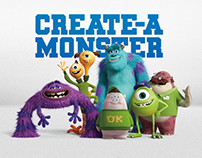 Monsters University Create-a-Monster App