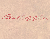 Garozzo's Menu Layout