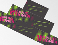 Business Cards for Graphic Designer