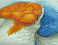Watercolor 7 - Oranda