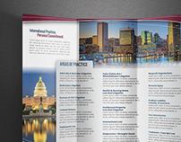 Print Design   Trifold Brochure