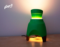 The Pop-it Lamp