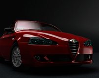 Alfa Romeo 147. Diabollic Red Limited edition