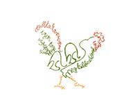 Typography of birds