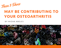 These Shoes May Be Contributing to Your Osteoarthritis