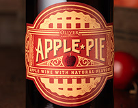 Apple Pie (Oliver Winery & Vineyards) Design & Logo