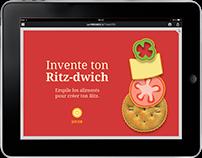 Ritz : Annonce Publicitaire Interactive fictive