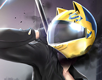 Durarara - The Headless Celty