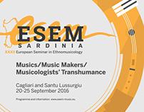 ESEM XXXII - European Seminar in Ethnomusicology