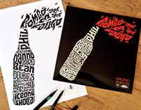 """Piombo e Fango"" Limited Edition Vynil cover + T-shirt"