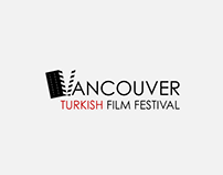 Vancouver Turkish Film Festival Logo Design