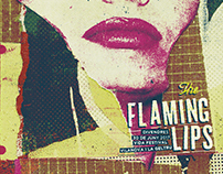The Flaming Lips gigposter