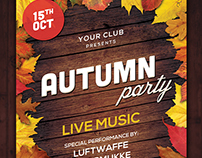 Autumn Party Flyer