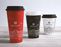 Packaging for Deville Coffee Calgary
