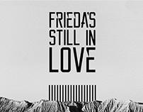 Poster presentación nuevo disco Frieda's Still In Love