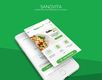 SanoVita - mobile version for Prestashop e-commerce