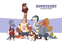 Dinosaurs (character design)