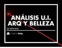 Análisis U.I. Arq y Belleza: La calle cero / ARQU-3810