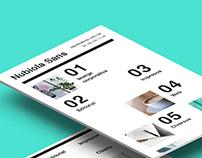 Nubiola Sans Website
