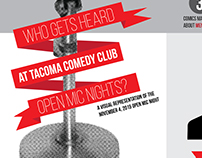 Who Gets Heard at Tacoma Comedy Club Open Mic Nights?
