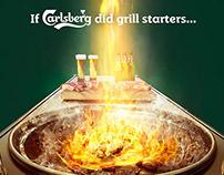 If Carlsberg did grill starters for Carlsberg
