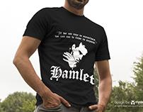 HAMLET T-shirt from Andrew Scott poster