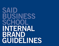 Saïd Business School Branding and literature