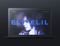 Website for singer Ellielil