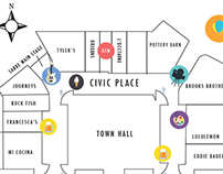 Southlake Art in the Square 2015 Map